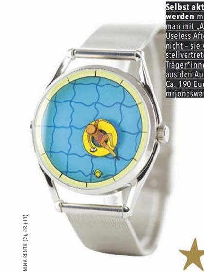 杂志 女式 手表 时尚手表图片4795296