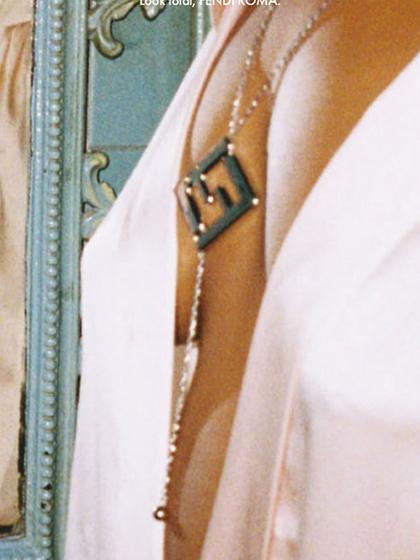 杂志 女式 颈饰 毛衣链图片4808466