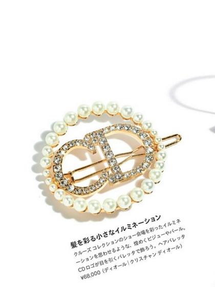 杂志 女式 发饰 发夹图片4826405