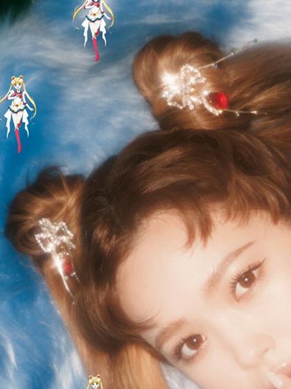 杂志 女式 发饰 发夹图片4830016