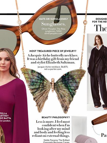 杂志 女式 颈饰 项链图片4835239