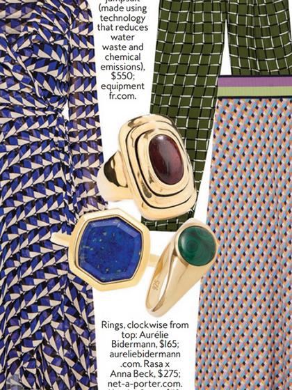 杂志 女式 手饰 戒指图片4835236