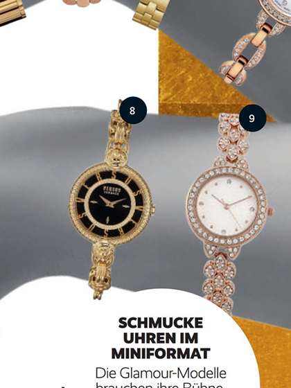 杂志 女式 手表 时尚手表图片4835248