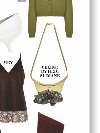 杂志 女式 颈饰 项链图片4835272