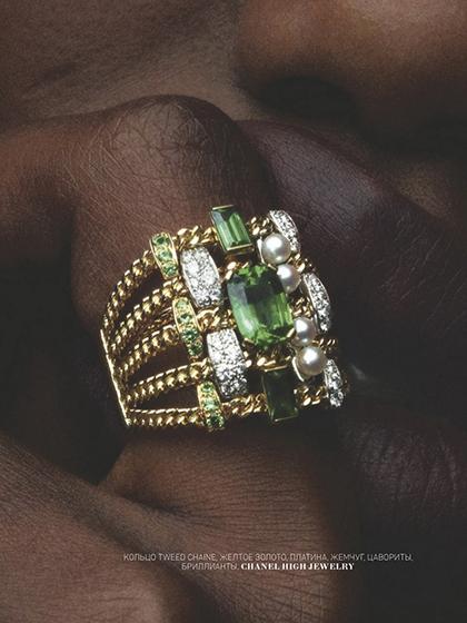 杂志 女式 手饰 戒指图片4835265