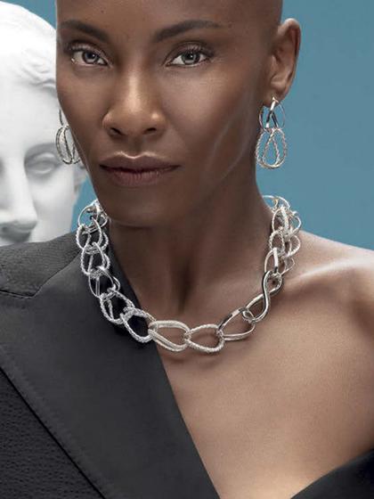 杂志 女式 颈饰 项链图片4836697