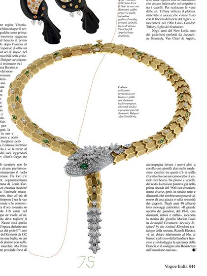 杂志 女式 颈饰 项链图片4836693