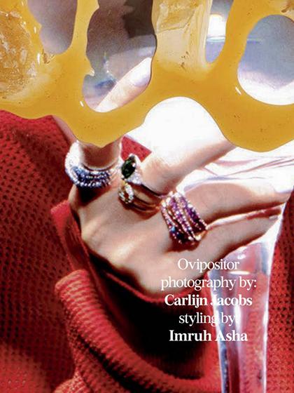 杂志 女式 手饰 戒指图片4836692