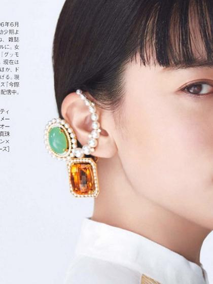 杂志 女式 耳饰 耳坠图片4836729