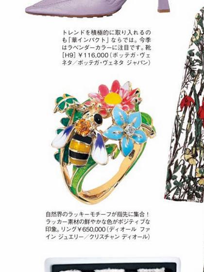 杂志 女式 手饰 戒指图片4836719