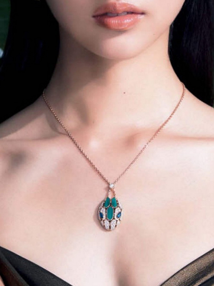 杂志 女式 颈饰 项链图片4836716