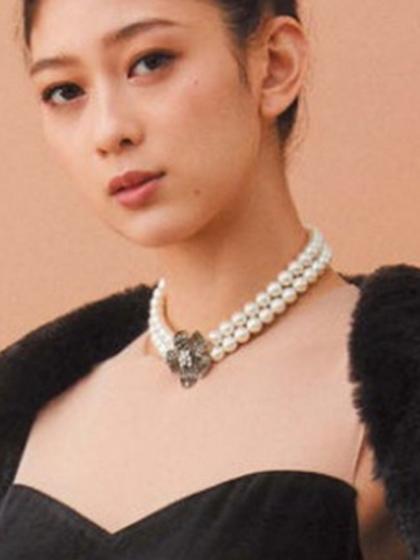 杂志 女式 颈饰 项链图片4836713