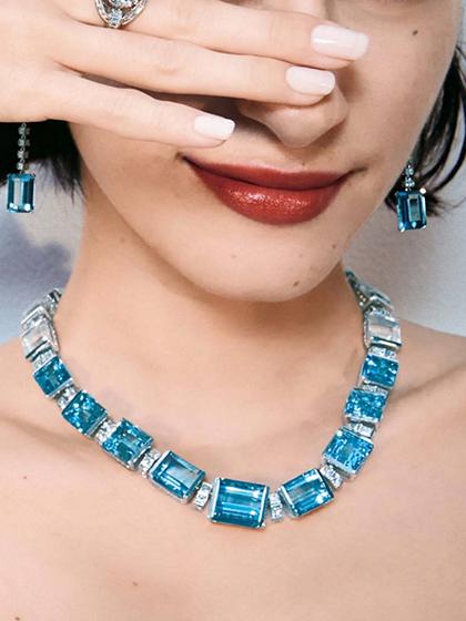 杂志 女式 颈饰 项链图片4836712