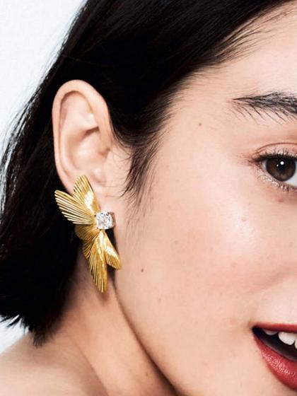 杂志 女式 耳饰 耳钉图片4836711