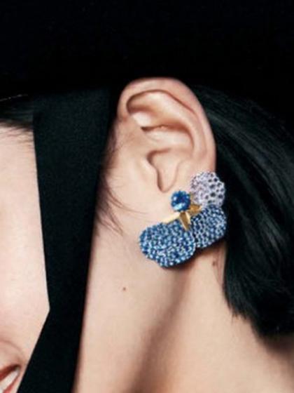 杂志 女式 耳饰 耳钉图片4836710