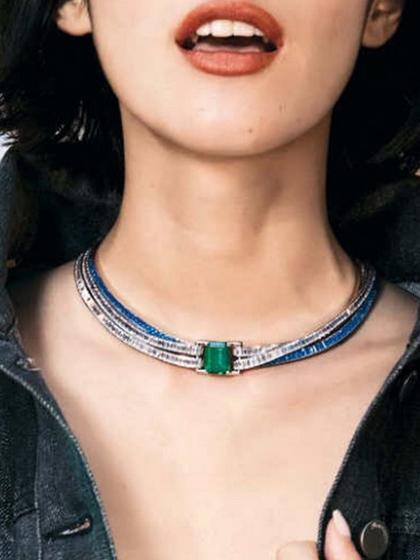 杂志 女式 颈饰 项链图片4836708