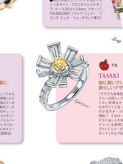 杂志 女式 手饰 戒指图片4836703