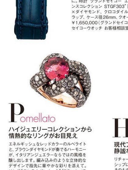 杂志 女式 手饰 戒指图片4836702