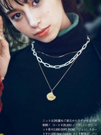 杂志 女式 颈饰 项链图片4838943