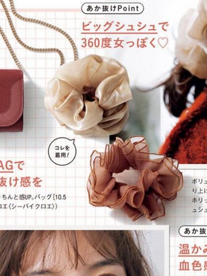 杂志 女式 发饰 发圈/发绳图片4838941