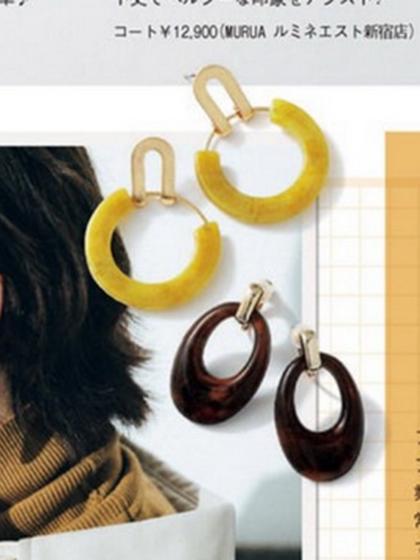 杂志 女式 耳饰 耳坠图片4838940