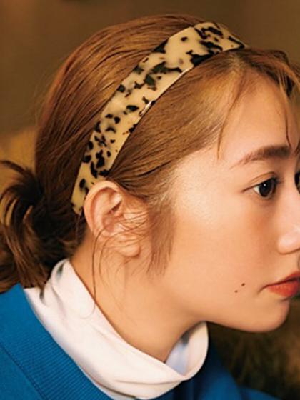 杂志 女式 发饰 发箍图片4838947
