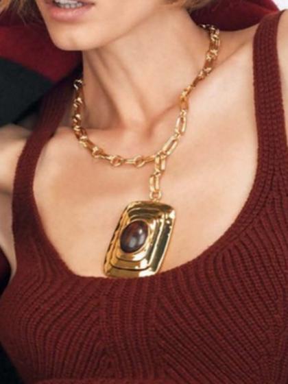 杂志 女式 颈饰 项链图片4838965