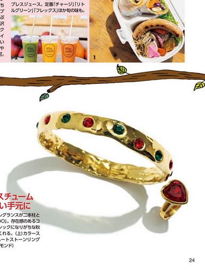 杂志 女式 手饰 手镯图片4842455