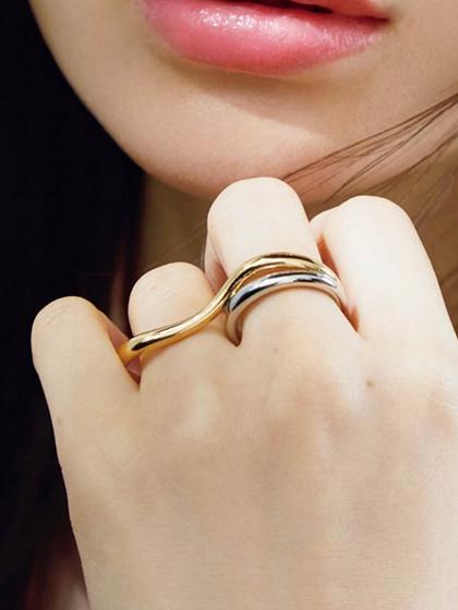 杂志 女式 手饰 戒指图片4842453