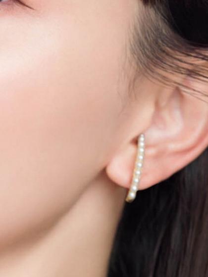 杂志 女式 耳饰 耳钉图片4842452