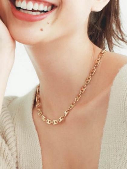 杂志 女式 颈饰 项链图片4842460