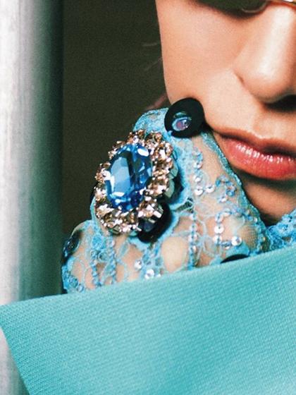 杂志 女式 手饰 戒指图片4845491