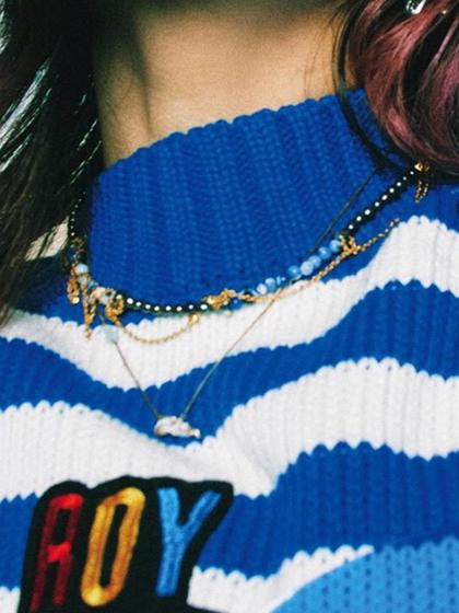 杂志 女式 颈饰 项链图片4845490