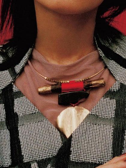 杂志 女式 颈饰 项链图片4845487