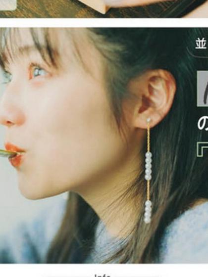 杂志 女式 耳饰 耳坠图片4845508