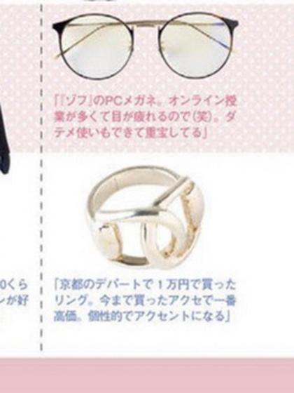 杂志 女式 手饰 戒指图片4845505