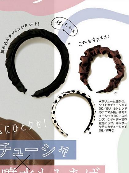 杂志 女式 发饰 发箍图片4938112