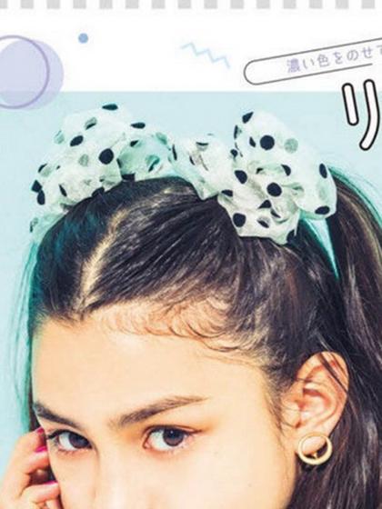 杂志 女式 发饰 发箍图片4942976