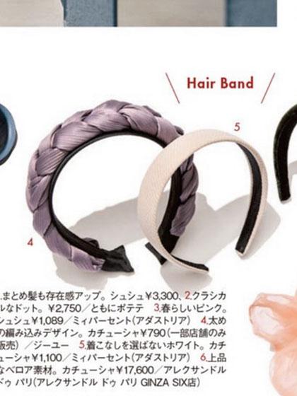 杂志 女式 发饰 发箍图片4996902