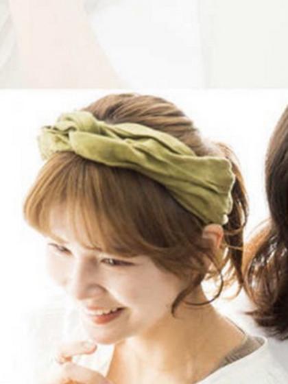 杂志 女式 发饰 发箍图片4998717