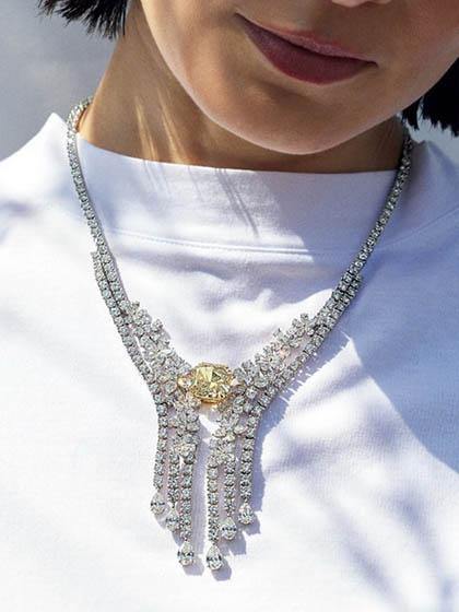 杂志 女式 颈饰 项链图片5002385