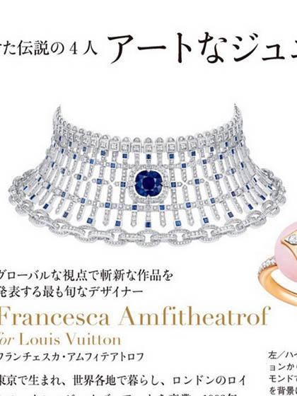 杂志 女式 颈饰 项链图片5002377