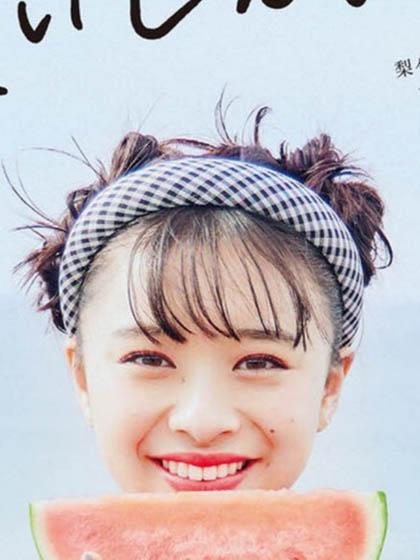 杂志 女式 发饰 发箍图片5005420