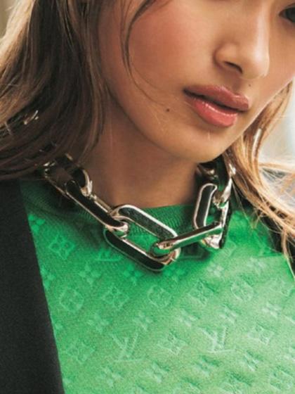 杂志 女式 颈饰 项链图片5007192