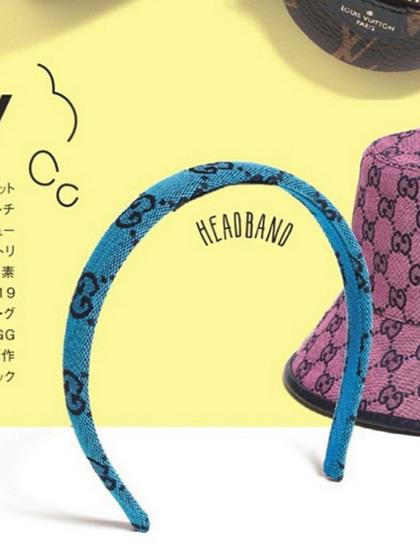 杂志 女式 发饰 发箍图片5007191