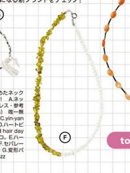 杂志 女式 颈饰 项链图片5007451
