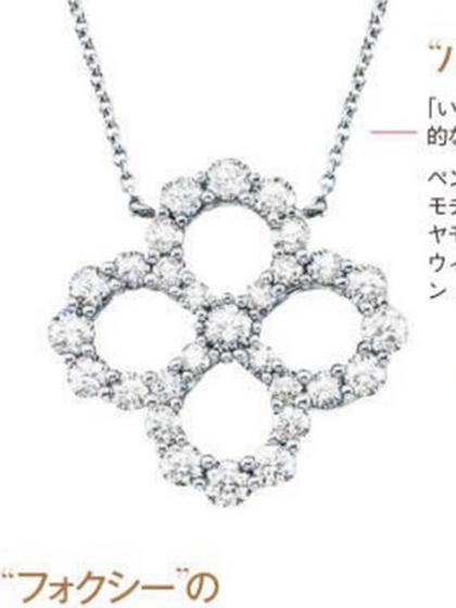 杂志 女式 颈饰 项链图片5009114