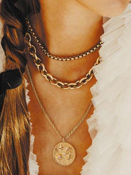 杂志 女式 颈饰 项链图片5011352