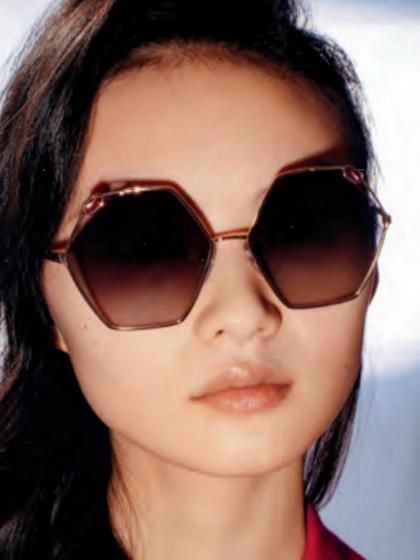 杂志 女式 眼镜 图片5015712