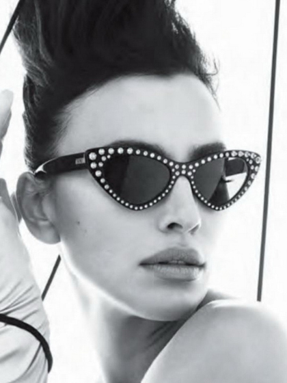 杂志 女式 眼镜 图片5015710